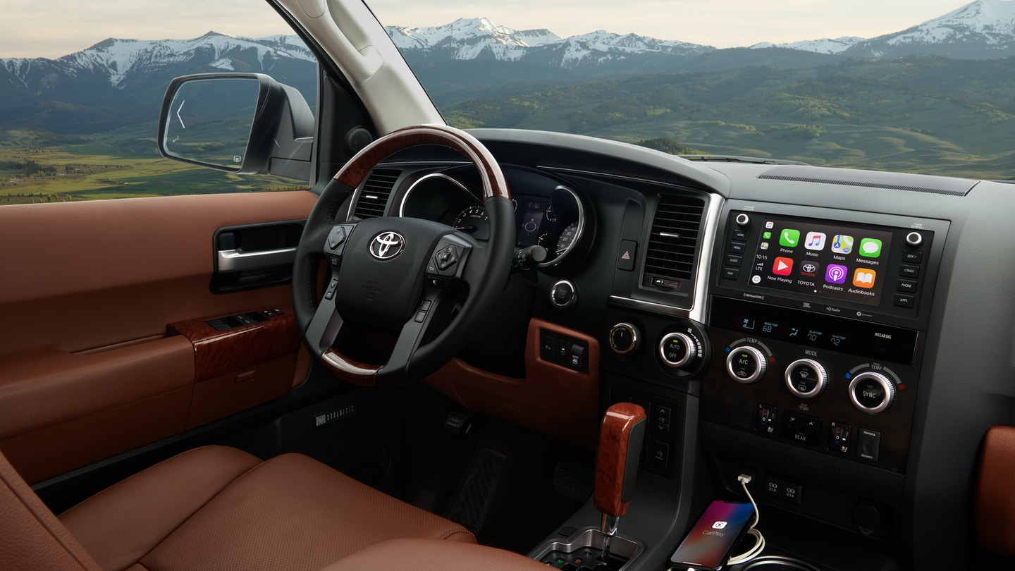 The 2020 Toyota Sequoia with the latest Technology for sale at Arlington Toyota in Jacksonville, FL