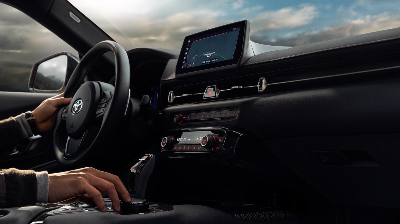 Toyota Supra Interior