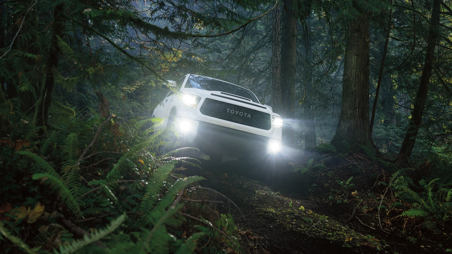 The 2020 Toyota Tundra with must have safety features for sale at Arlington Toyota in Jacksonville, FL