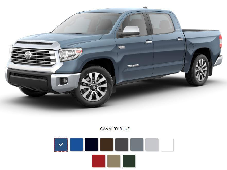 The 2020 Toyota Tundra with a sleek exterior for sale at Arlington Toyota in Jacksonville, FL
