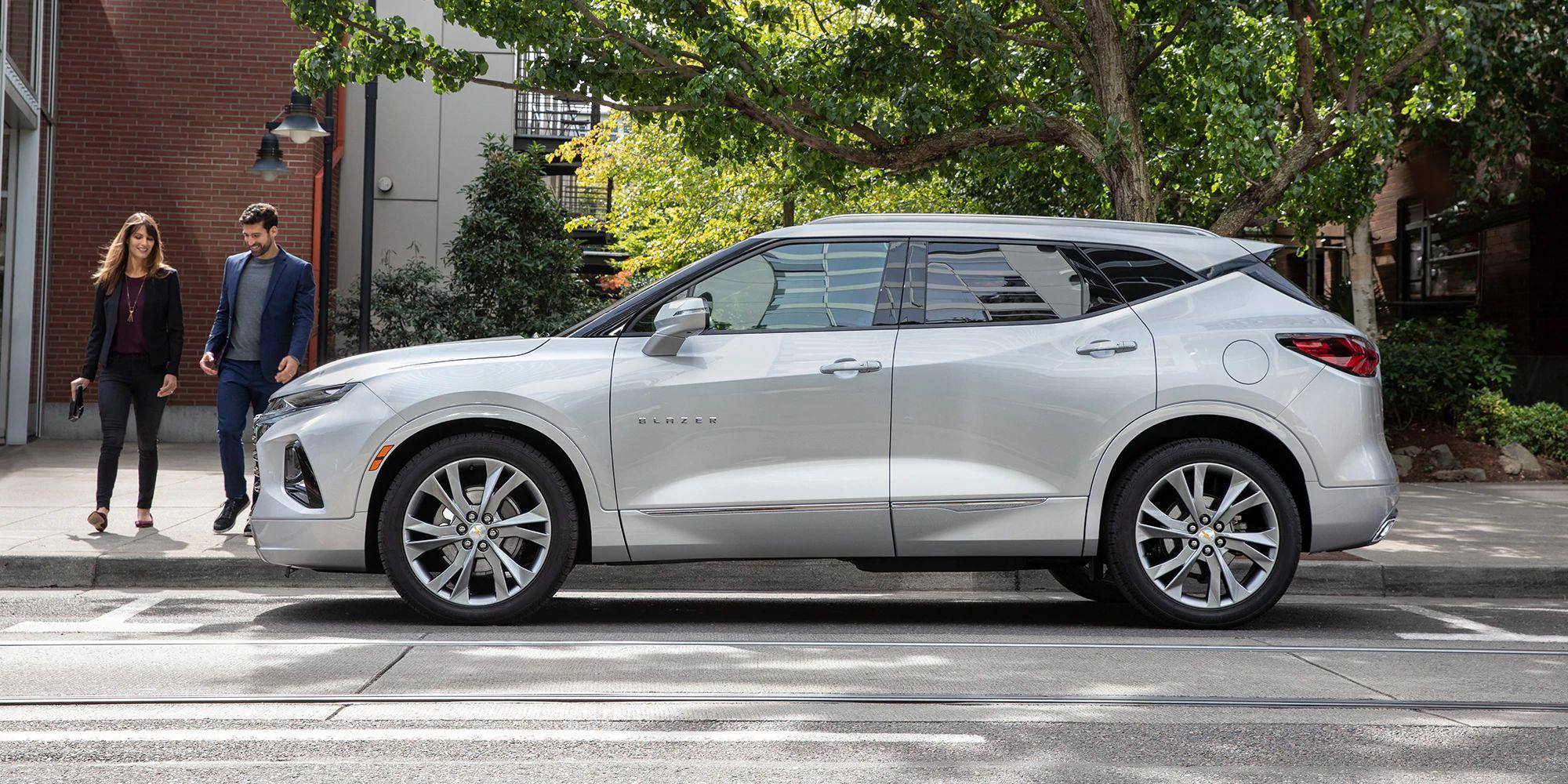 2021 Chevrolet Blazer Exterior Colors