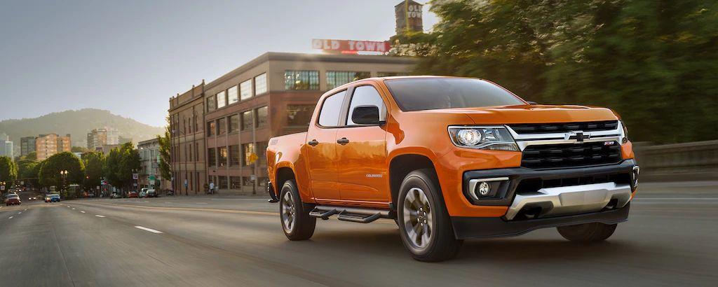 2021 Chevrolet Colorado for sale near Akron, OH