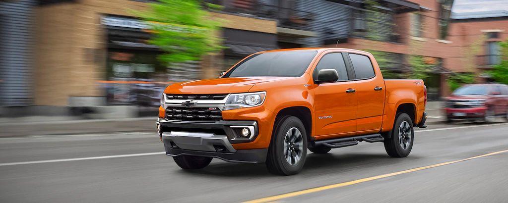 2021 Chevrolet Colorado Performance
