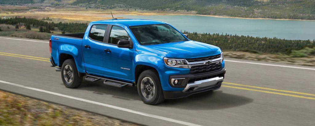 2021 Chevrolet Colorado Safety Features