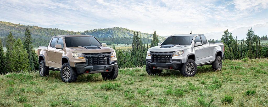 2021 Chevrolet Colorado Specs & Review