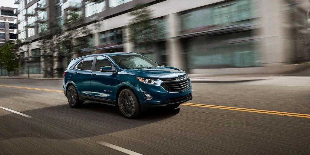2021 Chevrolet Equinox Exterior Colors