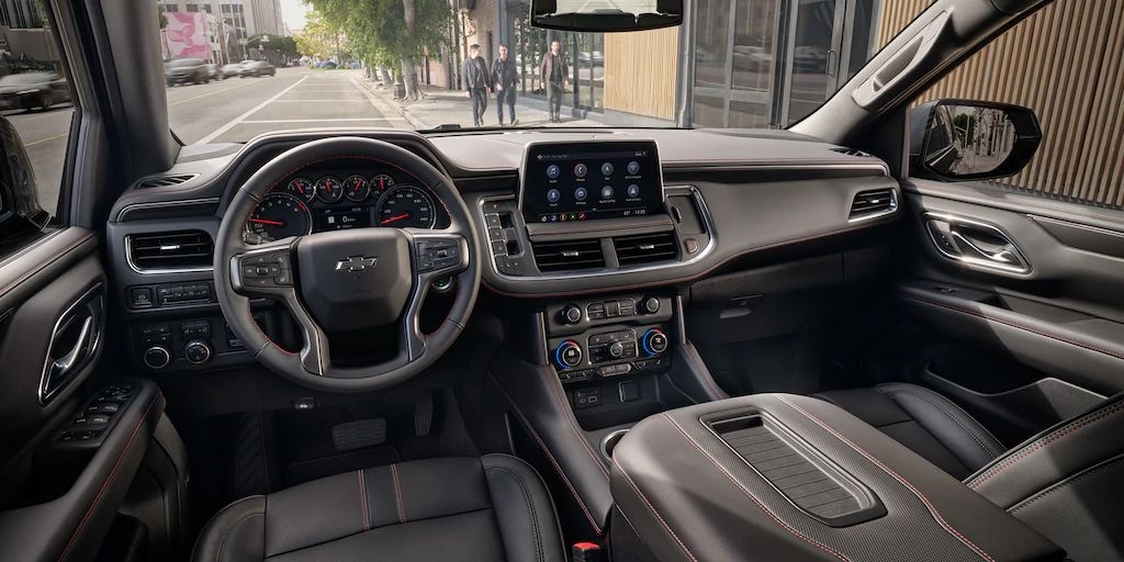 what is the interior of the 2021 chevrolet tahoe like sandy sansing chevrolet interior of the 2021 chevrolet tahoe