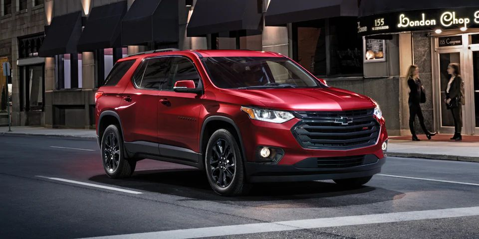 2021 Chevrolet Traverse Safety Features