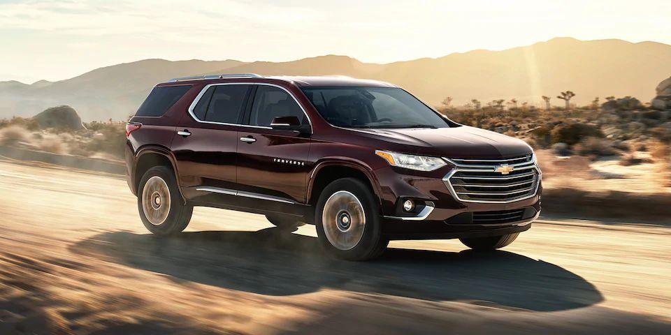 2021 Chevrolet Traverse Exterior