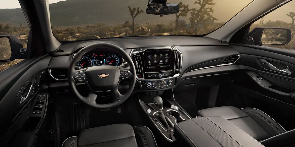 New 2021 Chevrolet Traverse for sale near Akron, OH