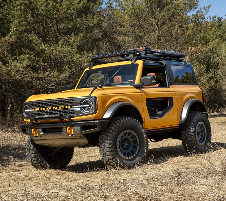 New 2021 Ford Bronco Safety Features