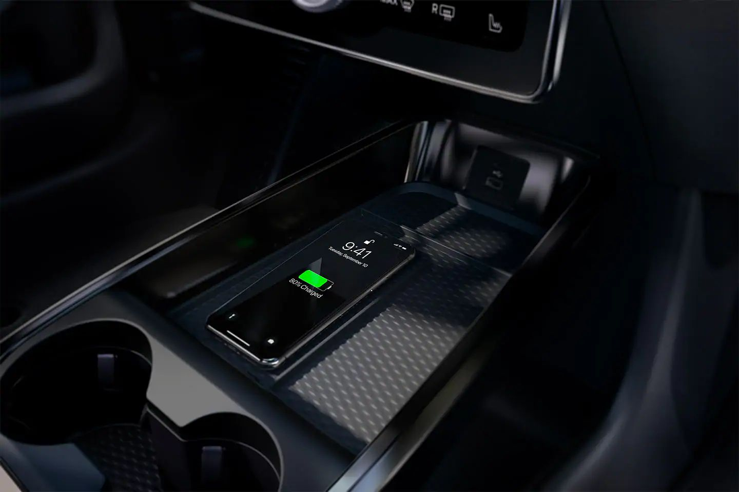 2021 Ford Mustang Mach-E Wireless Charging
