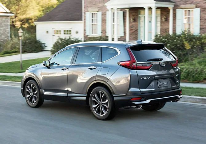 How much can the 2021 Honda CR-V tow?