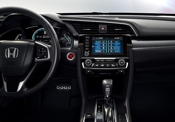 2021 Honda Civic Sedan Interior