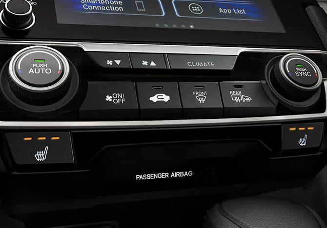 2021 Honda Civic Sedan Technology