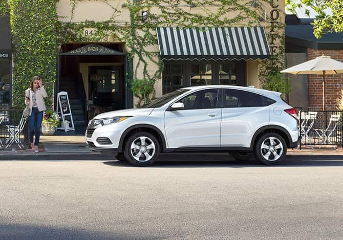 How much can the 2021 Honda HR-V tow?