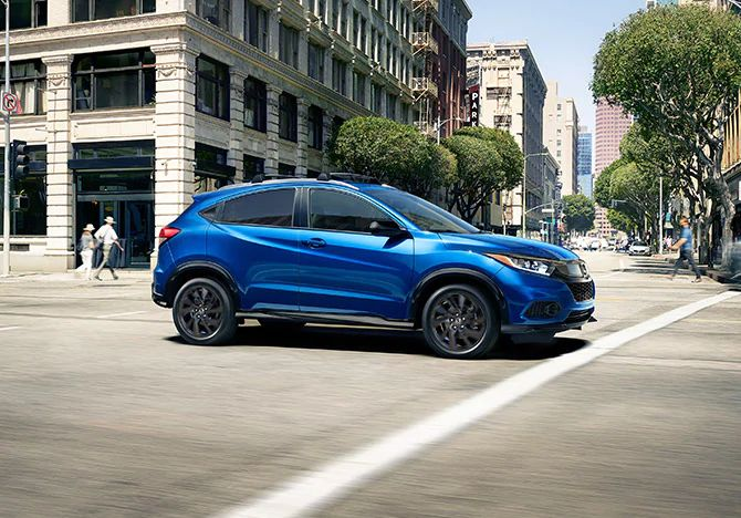 2021 Honda HR-V Safety Features