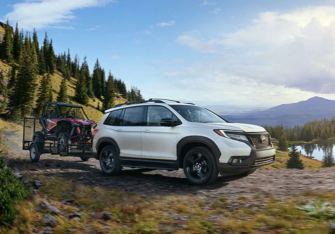 How much can the 2021 Honda Passport tow?