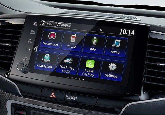 2021 Honda Ridgeline Interior