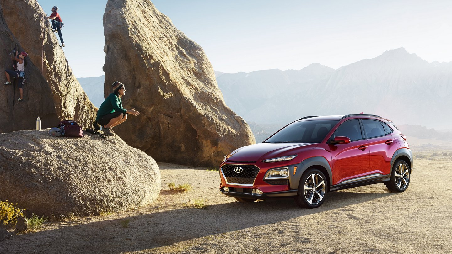 What is the gas mileage of the 2021 Hyundai Kona?