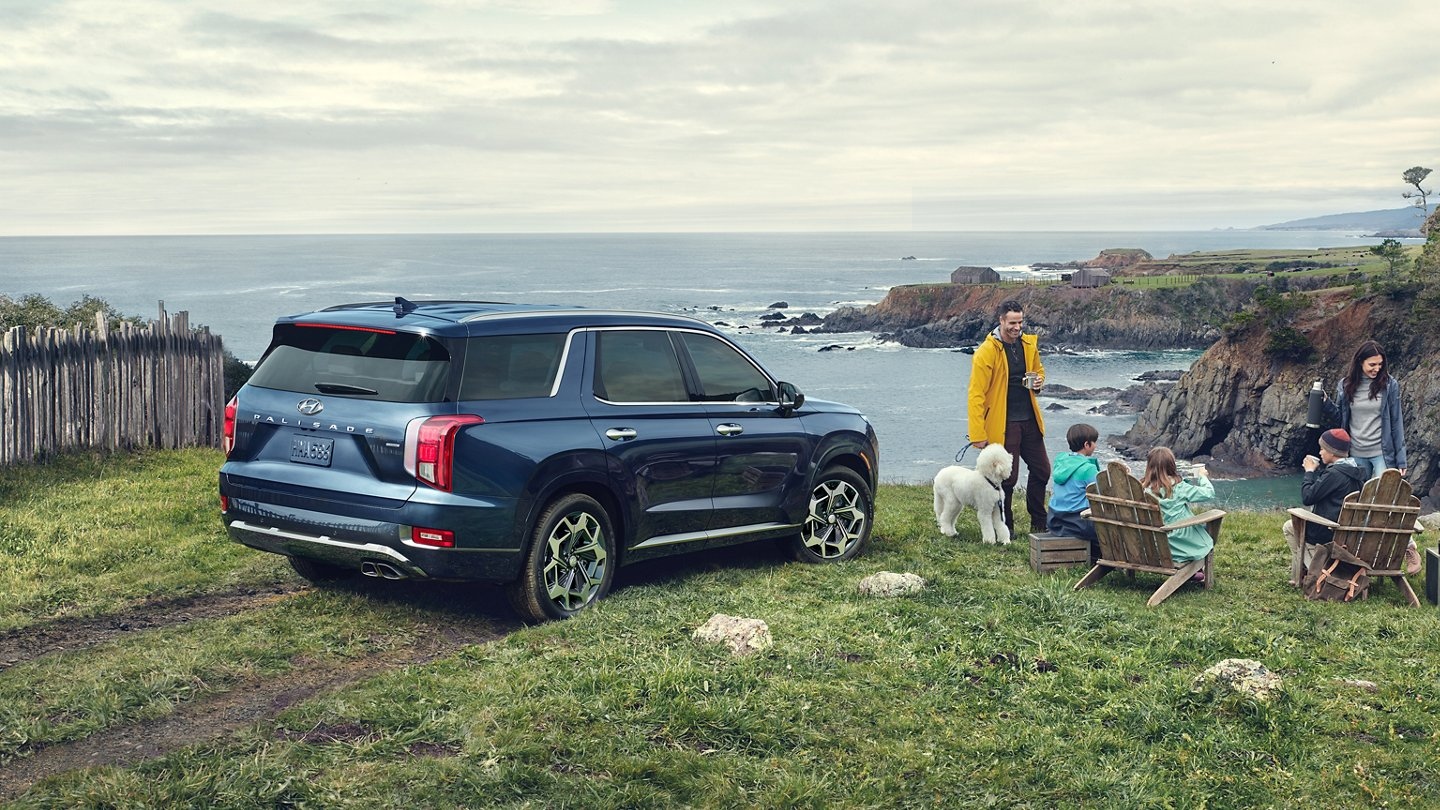 What is the gas mileage of the 2021 Hyundai Palisade?