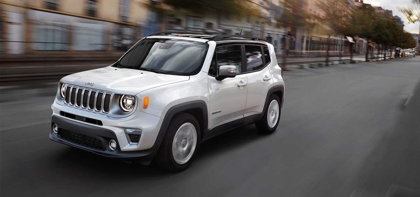 New 2021 Jeep Renegade Technology