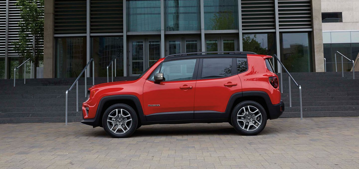 New 2021 Jeep Renegade Safety Features