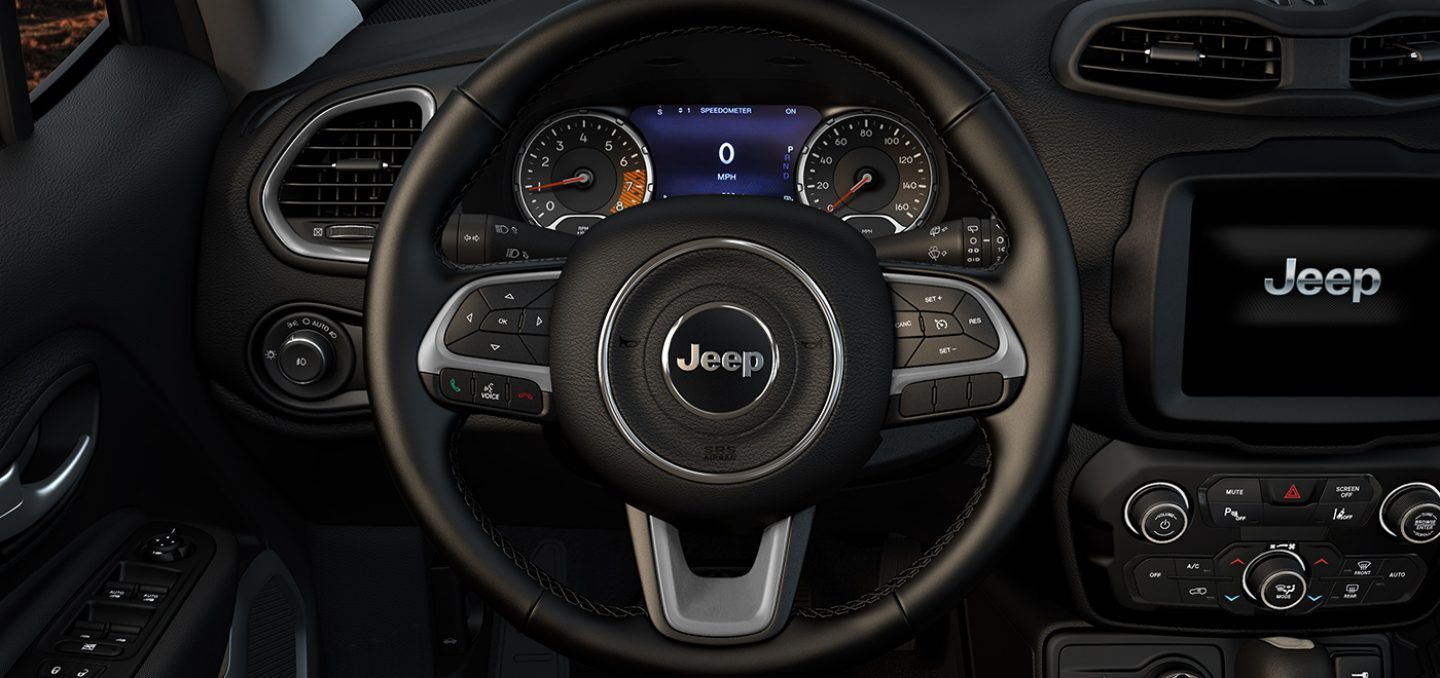 New 2021 Jeep Renegade Interior