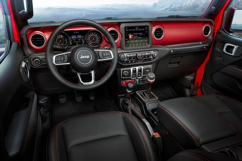 New 2021 Jeep Wrangler Interior