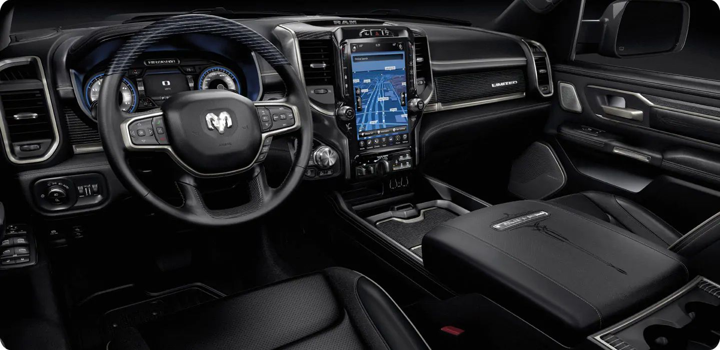 New 2021 Ram 1500 Interior