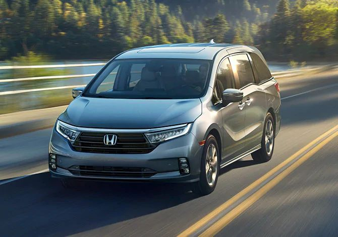 How much can the 2022 Honda Odyssey tow?