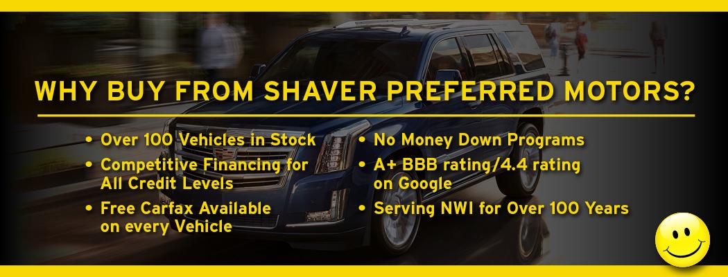 Shaver Preferred Motors