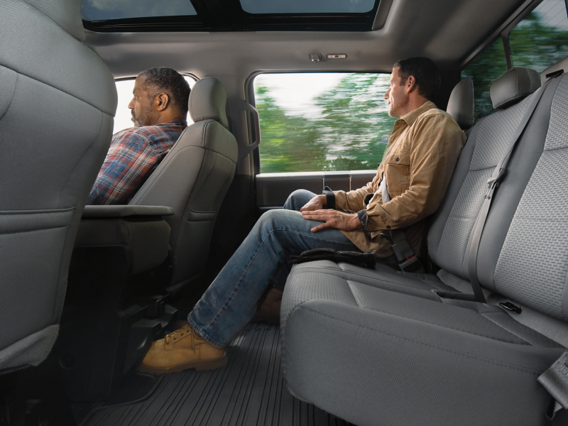 Stay safe inside the 2020 Ford F-150