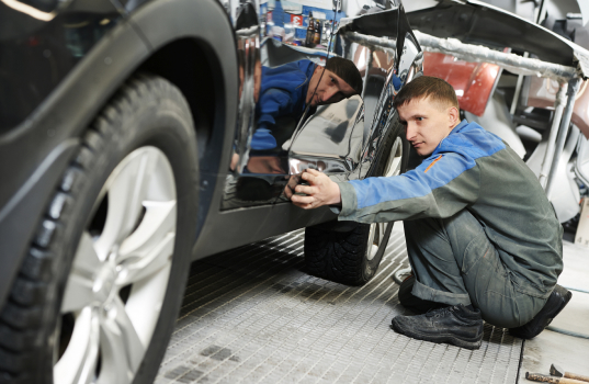 Each vehicle from McCloskey Motors is inspected by our service team
