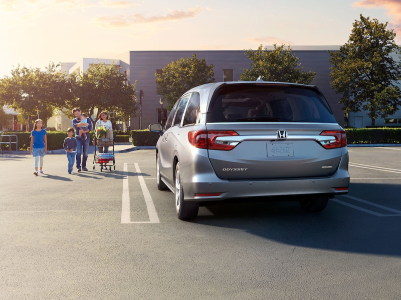 The 2019 Honda Odyssey available at McGrath Honda in Elgin, IL