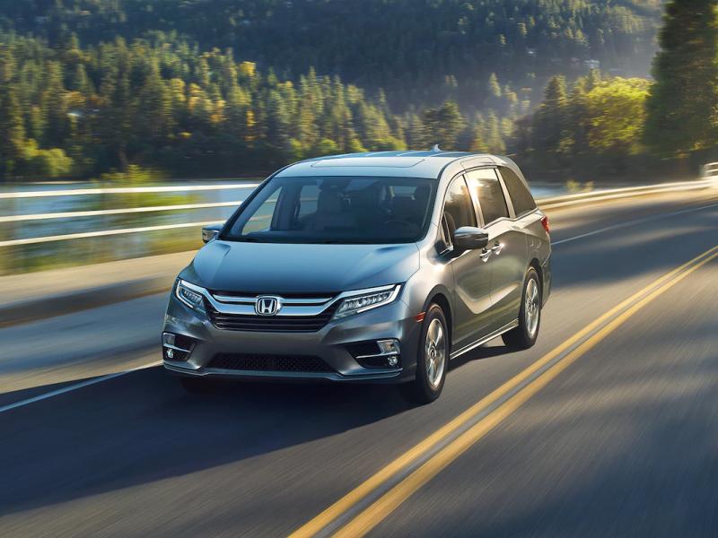 The high-performance 2019 Honda Odyssey